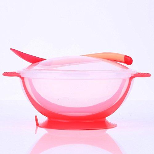 【使い勝手の良い】 Feeding Bowls Feedingボウル Feedingボウル – 3 pc/セットベビーボウルカバースプーン食器セット幼児カトラリーセットドロップ抵抗温度検知赤ちゃんFeeding製品 B077M9GNWY – Baby pc Feeding Bowls ピンク 5603007110014 ピンク B077M9GNWY, 千年ジュエリー:f6783b58 --- beyonddefeat.com