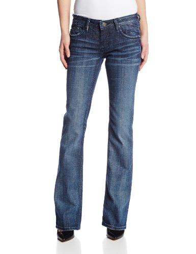 Vigoss Juniors Chelsea Bootcut Jean with Signature V Back Pocket, Dark Wash, 25