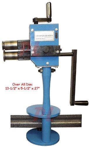 Manual CRIMPER BEAD Beader Sheet Metal Roll Roller Former Fabrication 24 Gauge