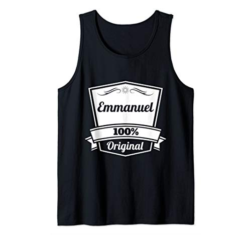 Emmanuel Gift / Emmanuel Personalized Name Birthday Tank Top