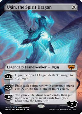 Magic: The Gathering - Ugin, The Spirit Dragon - Foil - War of The Spark - Mythic Edition