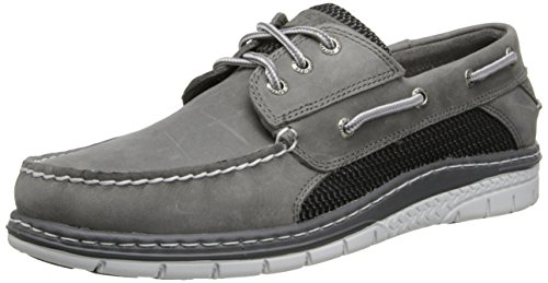 Sperry Top-Sider Men's Billfish Ultralite Oxford,Grey/Black,11 M (Classic Moc Slip)