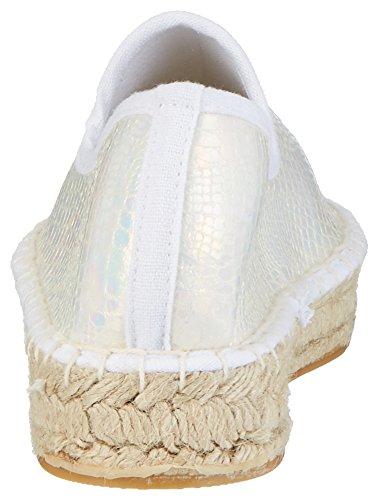 kamoa Women's Pspaloma Espadrilles White (White) 6Kr4fFADgd