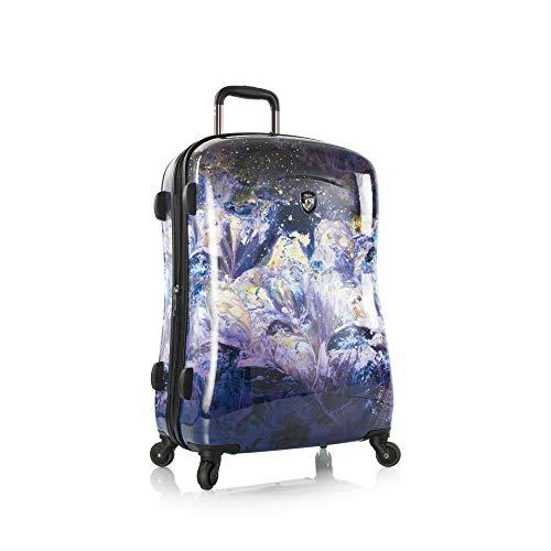 Heys Luggage Purple Amethyst 26 Inch Spinner Suitcase
