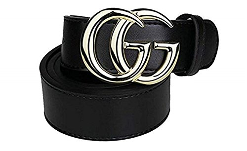 39dbab9b5a3 Fashion Luxury Men s Comfort Genuine Leather Belt Adjustable Buckle ...