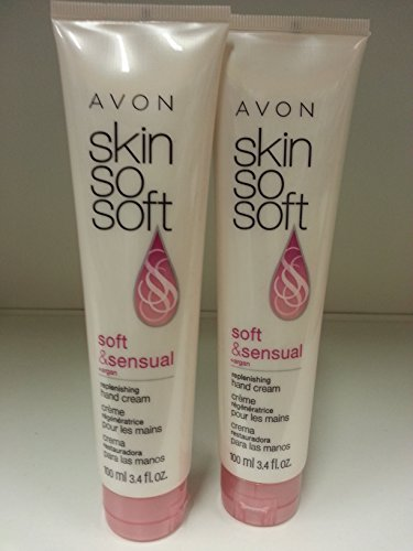 Skin so Soft Hand Cream 2 pack (soft & sensual) - Avon Skin So Soft Hand Cream