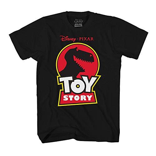 Disney Pixar Toy Story Jurassic Rex T-Shirt (Small, Rex Black)