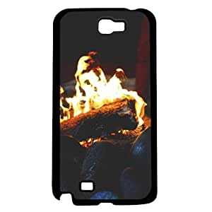 Camp Fire Hard Snap on Case (Galaxy Note 2 II) by supermalls