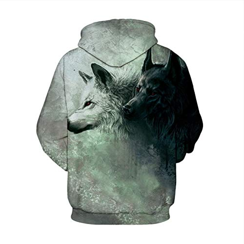 Avec Animal 3d Longues 1 Robo Casual shirt Vest T À Sweats Capuche Hoodie Homme Top Manches Unisexe Pull Multicolore C za1Pz