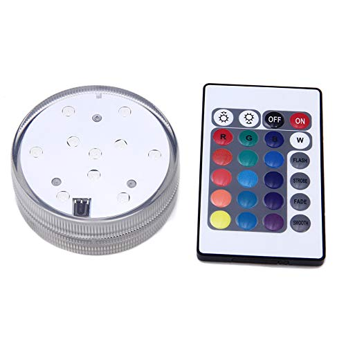 Price comparison product image Waterproof Switch Hookah Shisha Accessories Battery Operated Led Light with Remote Controlled (A)