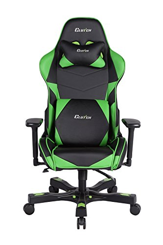 Clutch Chairz Crank Series Charlie Gaming Chair Black Green