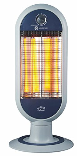 Estufa Panel radiante con 2 elementos de fibra de carbono estufa DCG sa9829: Amazon.es: Hogar