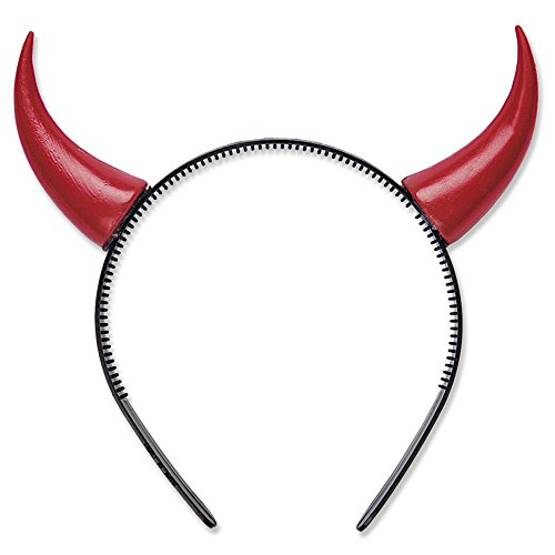 Devil Horns Accessory For Halloween Lucifer Satan Fancy Dress