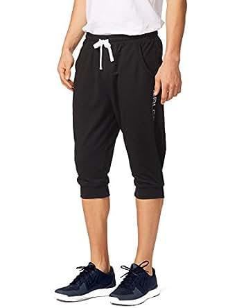 Baleaf Men's Performance Three-Quarter Jogger Pants Black Size XS