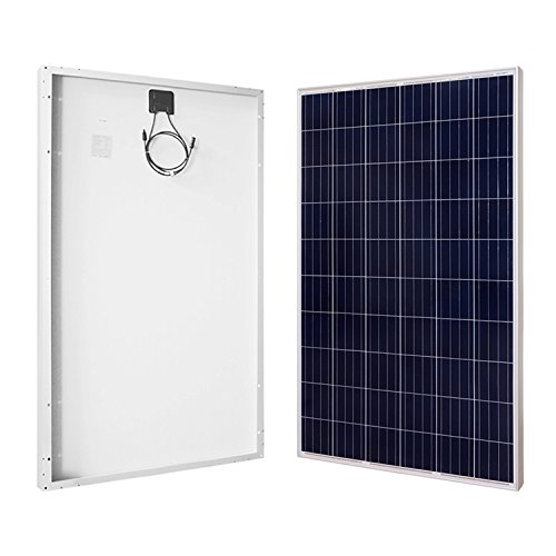 RENOGY 270W Watt Polycrystalline Black Solar Panel UL Listed by Renogy