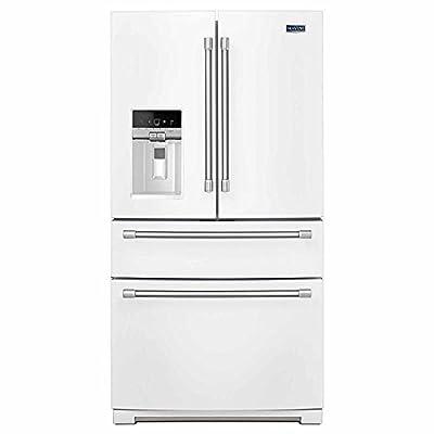 "Maytag Heritage Series MFX2876DRH 36"" 26.2 cu. ft. French Door 4 Door White Full Size Refrigerator"