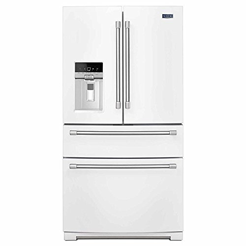 "Maytag Heritage Series MFX2876DRH 36"" 26.2 cu. ft. French Door 4 Door White Full Size Refrigerator"