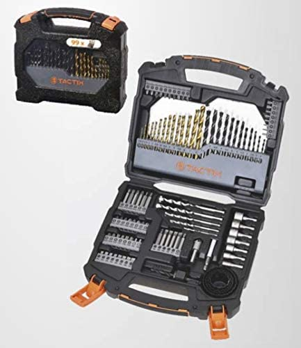 Black 7-Piece Bosch Home and Garden 2607019673 7pc Metal Mini X-Line Drill Set