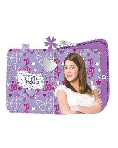 Portafoglio Similpelle Violetta Disney *18373 Portafogli Bambina