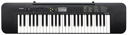 CASIO Electric Keyboard 49Black CTK-240 (Japan Import) by Casio