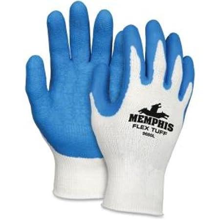 Amazon.com: MCR Safety Ninja Flex Safety Gloves MPG9680L ...
