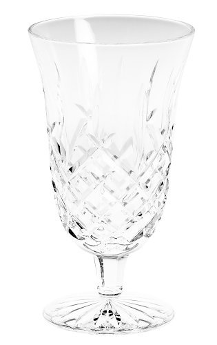 Waterford Crystal Araglin Footed Iced Beverage Glass, 14-Ounce by Waterford Crystal