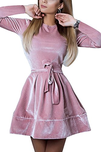 mini dress and heels - 5
