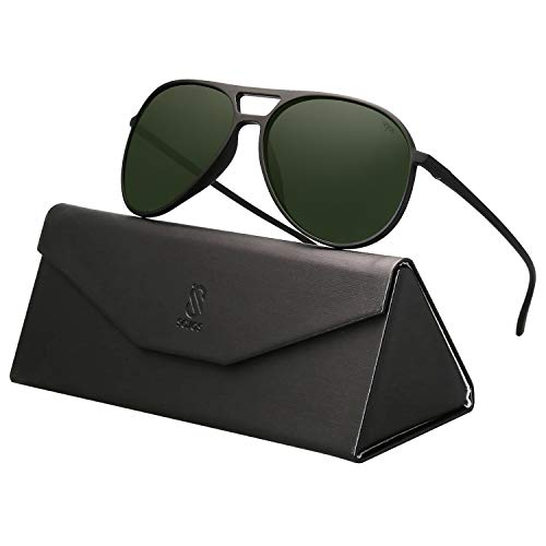 SOJOS Classic Polarized Ultra Lightweight Flexible Aviator