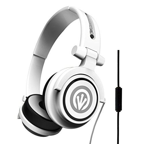 iFrogz IF-ORI-WHT Audio Orion Headphones with Mic