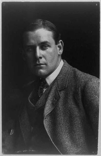 Photo: Belmore Browne,1880-1954,bust,suit and tie