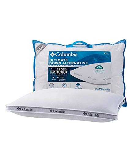Columbia Ultimate Cooling Down Alternative Performance allergen Barrier Pillow