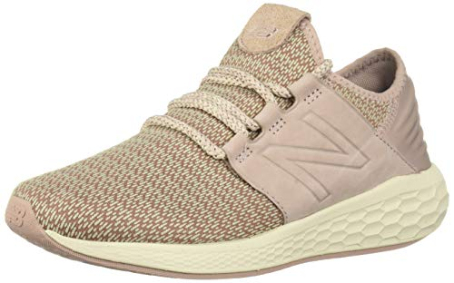 New Balance Women's Cruz V2 Fresh Foam Running Shoe Faded Birch/au Lait/Alabaster 5 B US by New Balance (Image #1)