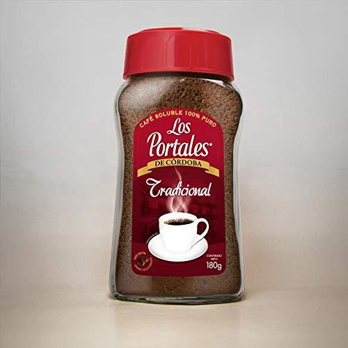 Instant Coffee Los Portales de Cordoba, Veracruz Mexico Traditional 100% Pure - Café soluble Los Portales de Córdoba tradicional 205 g