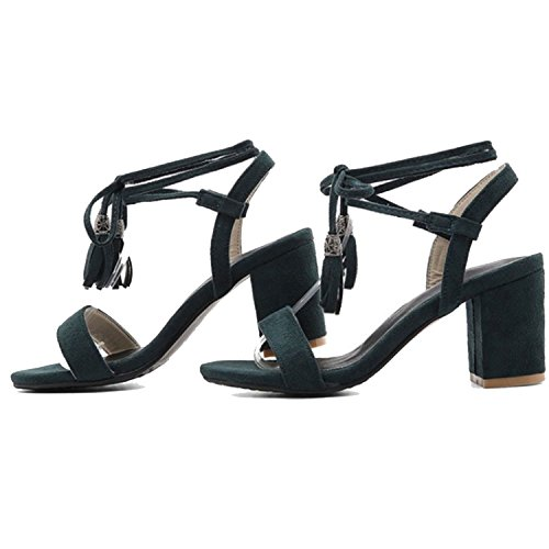 Kingwhisht Sexy high Heels Ankle Strap Lace up