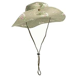 Garden Girl USA Gardening Hat, One Size, Roses Tan