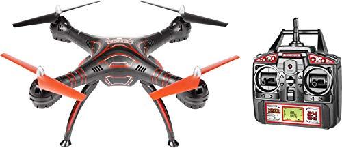 World Tech Toys Wraith Spy Drone Picture/Video Hi-Def 1080p Camera RC Drone, Black