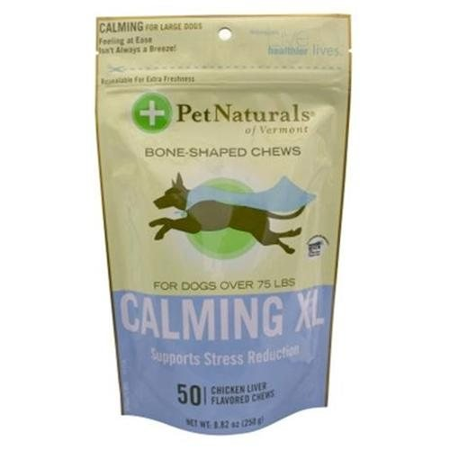 Calming Xl Bone-shaped Chews for Dogs - 50 count