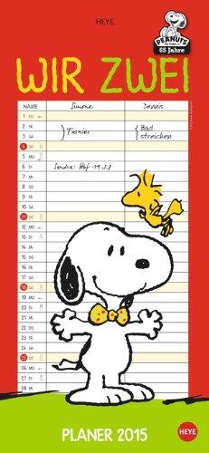Snoopy Planer für 2 - Wir zwei 2015