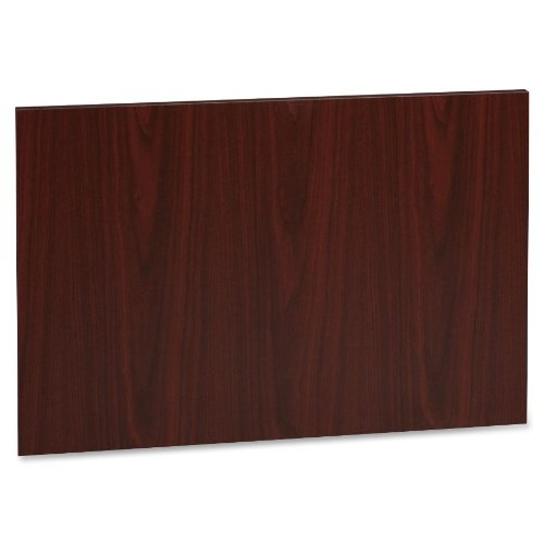 Lorell LLR63507 Accent Series Laminate Modesty Panel, Mahogany (Laminate Desk Ensemble)