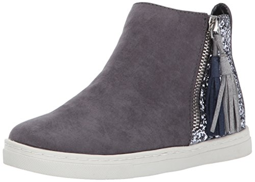 Dolce Vita Girls' Zalix Sneaker, Slate Microsuede, 3 Medium US Little Kid