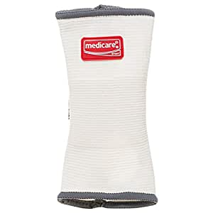 Medicare SportâElastic Wrist & Thumb Support S, White