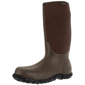 Bogs Men's Classic High Handle Waterproof Insulated Rain Boots