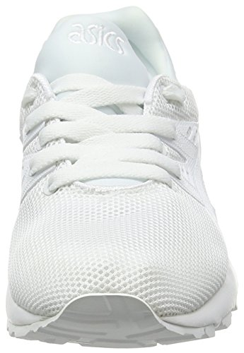 White Trainer Adultos Asics Blanco Zapatillas Kayano correr de Unisex Adults' Unisex Evo Gel White qS6wBS7