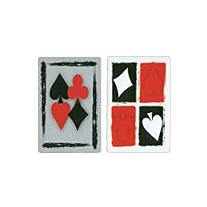 Gemaco Perfectly Suited 100% Plastic Playing Cards - 2 Decks