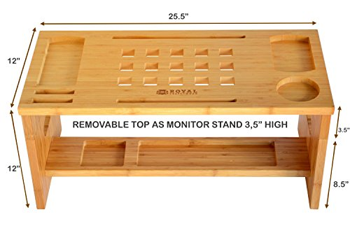 Royal Craft Wood Standing Desk For Back Pain Relief