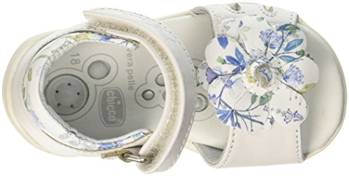 Chicco Sandalo Giorgia, Sandalias Para Niñas Bianco (Bianco)