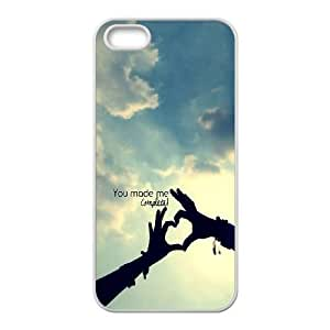 iPhone 4 4s Cell Phone Case White You Make Me Complete LV7978764