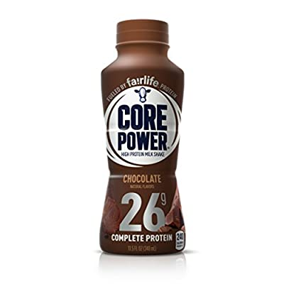 Core Power Natural High-Protein Milk Shake, Chocolate, 11.5-Ounce