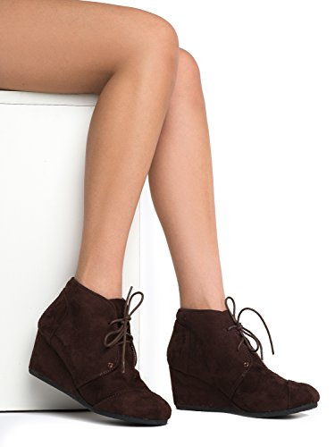 City Brown Pat Womens Wedges Classified Rex aa7R4
