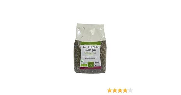 Semillas de Chia Organica 1 Kg - Envasado en atmósfera protectora
